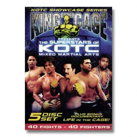 Superstars of King of the Cage (5 DVD Set)