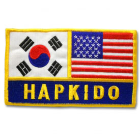 Korean American Hapkido Patch