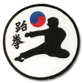 Korean Flying Kick Patch