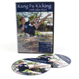 Kung Fu Kicking with Jake Mace (2 DVDs)