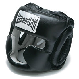 Leather Muay Thai Headgear