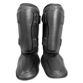 Leather Shin-Instep Protectors
