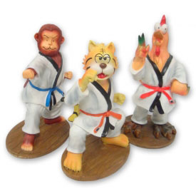 Martial Arts Animal Bank