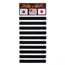 Martial Arts Belt Rack