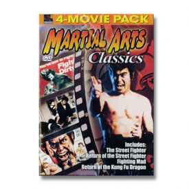 Martial Arts Classics 4-Movie Pack (DVD)