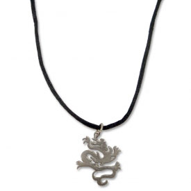 Martial Arts Dragon Necklace
