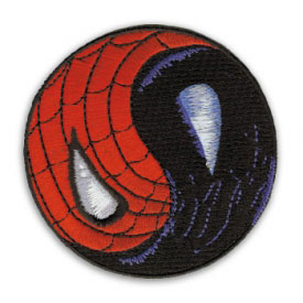 Marvel Comics Spiderman Venom Yin Yang Patch