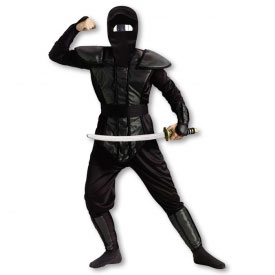 Men's Haunted Mirror Ninja Costume