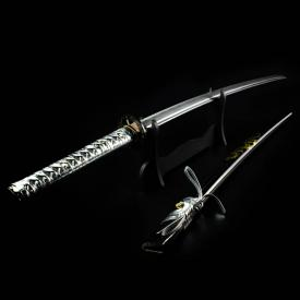 Metallic Dragon Hand-Forged Sword