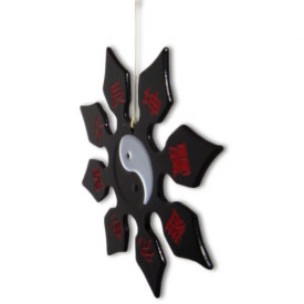 Mini Yin Yang Throwing Star