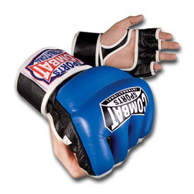 MMA Leather Hybrid Gloves