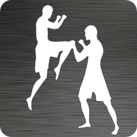 Muay Thai Fighters Vinyl Car Decal