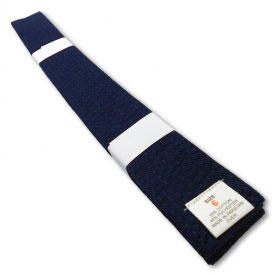 Navy Blue Rank Belt