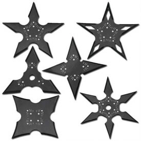 Nightshade Shuriken Set