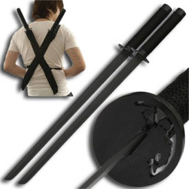 Ninja Assassin Twin Sword Set