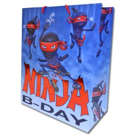 Ninja Birthday Gift Bag