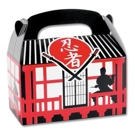 Ninja Party Favor Boxes (12-Pack)