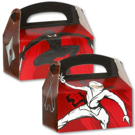 Ninja Warrior Gift Boxes (4-Pack)