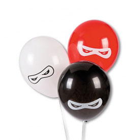 25 Ninja Warrior Party Balloons