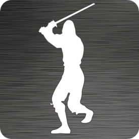 Ninja Warrior Vinyl Car Decal