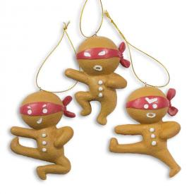Ninjabread Men Ornaments