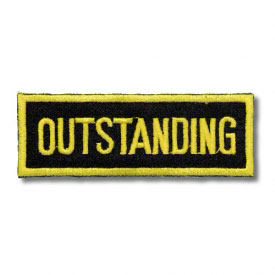 Outstanding Patch (5 Left In Stock)