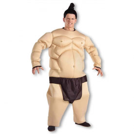 Padded Sumo Wrestler Costume