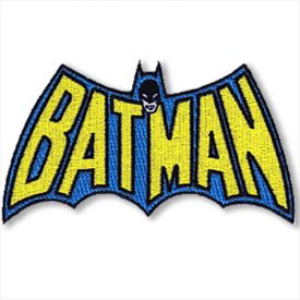 Classic Batman Logo Patch