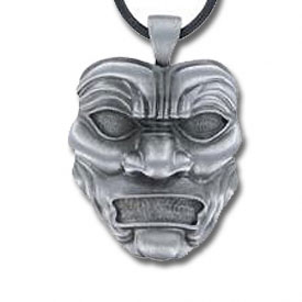 Persian Immortal Mask Necklace