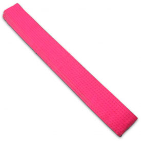 Hot Pink Rank Belt