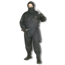 Plus Size Ninja Costume