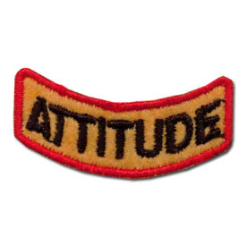 Positive Attitude Reward Patch (2 Left In Stock)