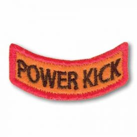 Power Kick Award Patch