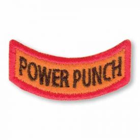 Power Punch Award Patch