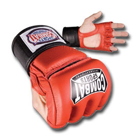 Pro Style Leather Grappling Gloves