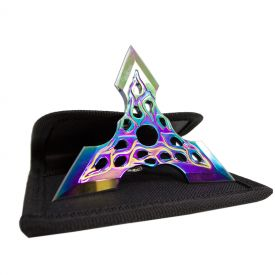 Rainbow Triforce Throwing Star