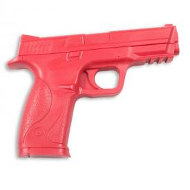Red 9mm Rubber Handgun