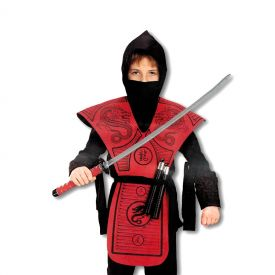 Red Dragon Ninja Costume