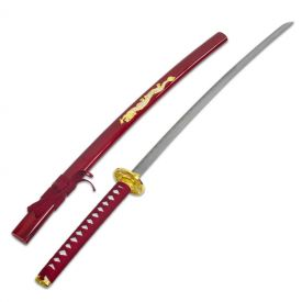 Red Dragon Samurai Sword