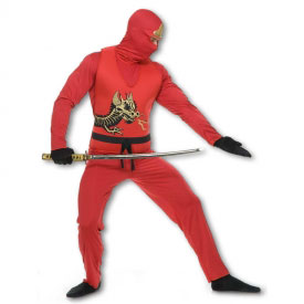 Red Ninja Avenger Costume