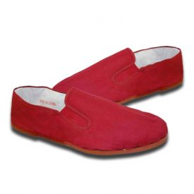 Red Rubber Kung Fu Shoes