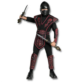 Red Skull Warrior Ninja