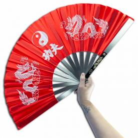 Red Steel Kung Fu Fan