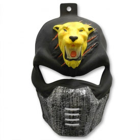 Retro Tiger Ninja Mask