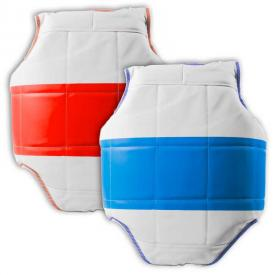 Reversible Chest Guard with Stripe