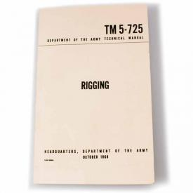 Rigging: Army Technical Manual
