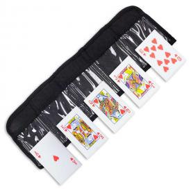 Royal Flush Throwing Cards
