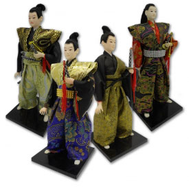 Royal Samurai Figurine