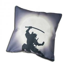 Samurai Throw Pillow Case