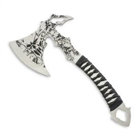 Screaming Skull Throwing Axe